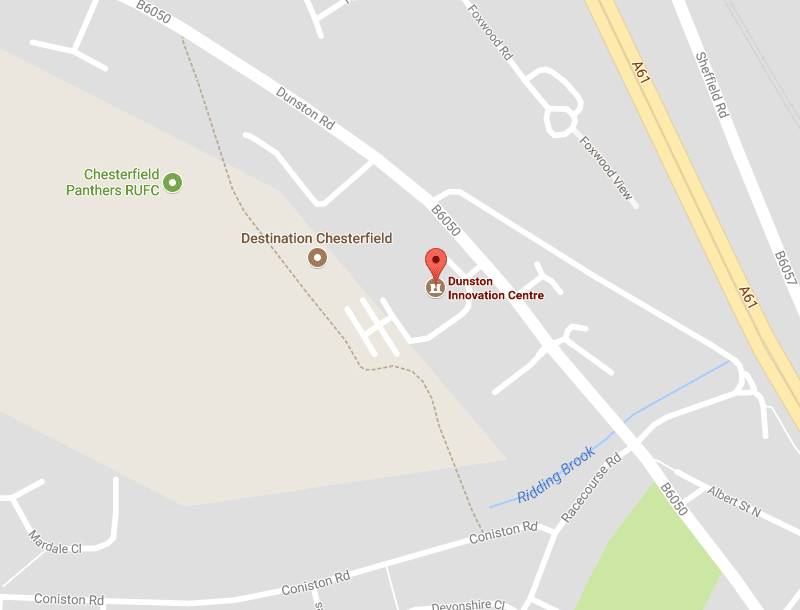 Chesterfield office map